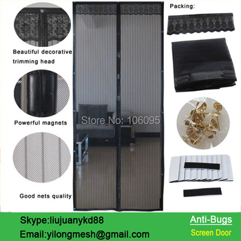 2015 NEW Hot! Magnetic Screen Soft Door  Free Shipping!!! Buy 1 Get 1 Free