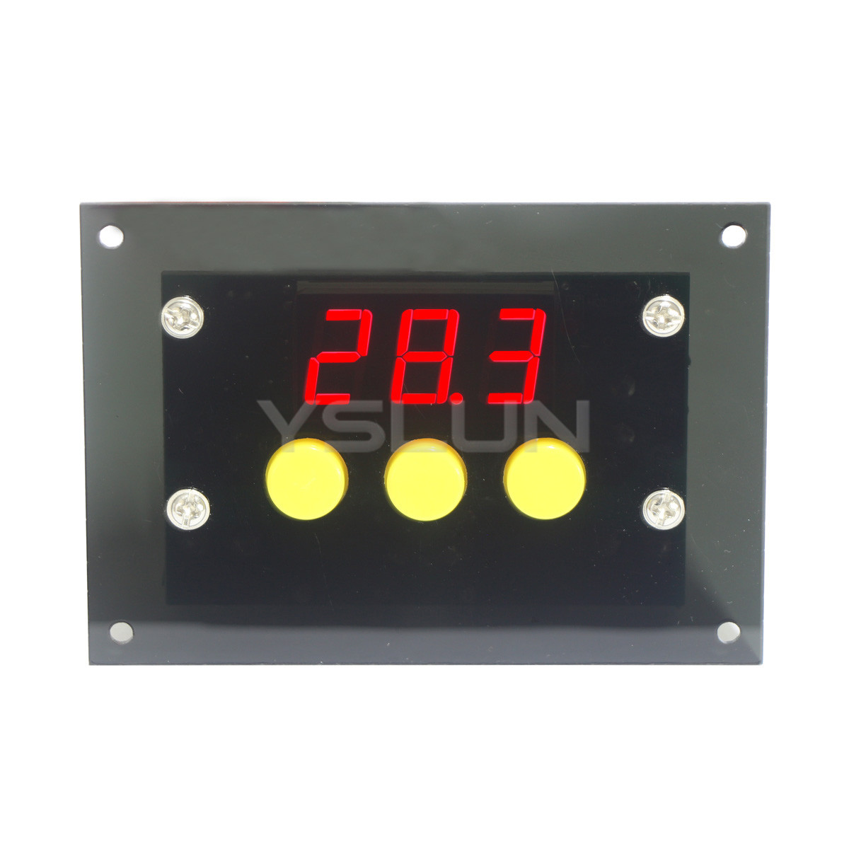 Digital Thermostat -50~110 Celsius Degrees Temp Controller DC/AC 12V Temperature Difference Control Switch  -  Yslun Electronic - Manufacturer store