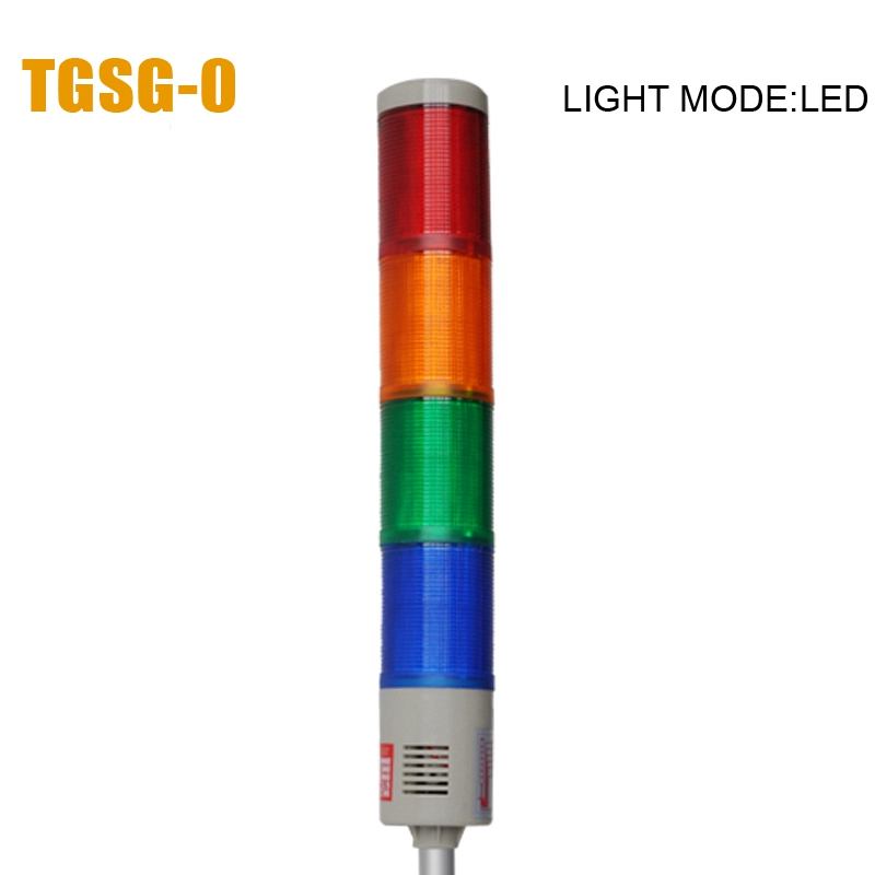 LTA-505 DC12V 4 Layers LED Warning light Alarm tower light used in machine(China (Mainland))