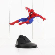 18 cm Spiderman Toy Figura Super Hero The Amazing Spider Man Collectible Modelo Criador X Criador Boneca(China)