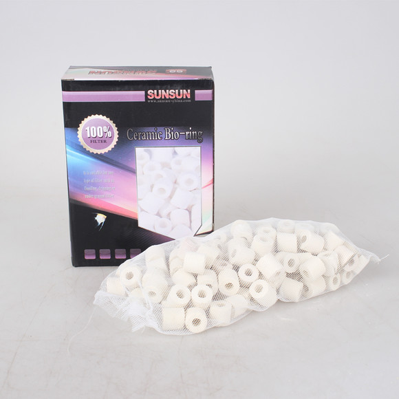 Aquarium Canister Filter Media Set SUNSUN ceramic rings bio balls active carbon(China (Mainland))