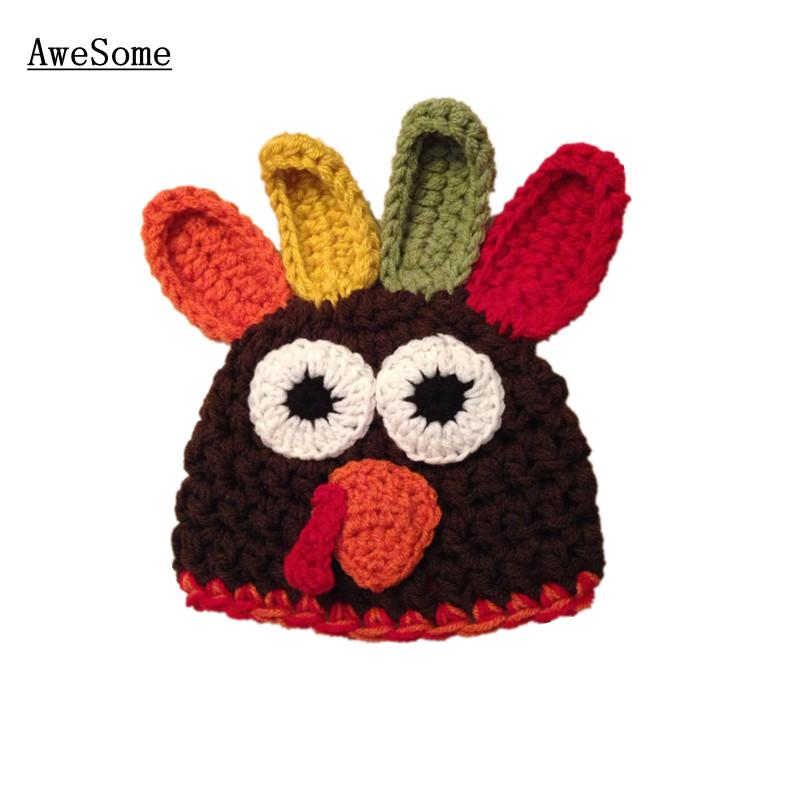 Newborn Crochet Chicken Hat Pattern : Free Shipping Chicken Baby Boy Girl Hat,Knit Crochet ...