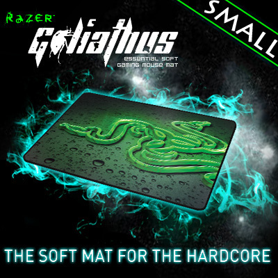 Razer Goliathus Speed Edition Soft Gaming Mouse Mat, Small size 270*215*3 mm Orignal& Brand New in BOX, Free shipping