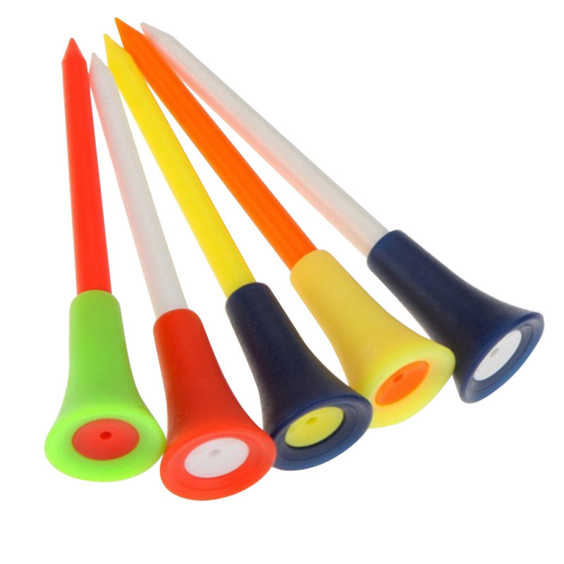 Successful business reception end customers outdoor golf golf tee out of 50 random colors(China (Mainland))