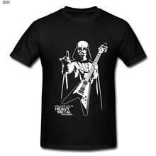 Men Darth Vader Heavy Metal Designer Funny T Shirts Short Sleeve Tee Shirts Creative Star Wars t-shirts Cotton S-XXL Shirt