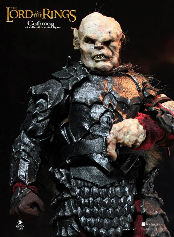 1/6 scale Figure doll The Lord of the Rings orc Gothmog.12 action figures doll.Collectible figure Model toys and gifts<br><br>Aliexpress