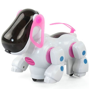Electric dog music universal wheels machine dog toy(China (Mainland))