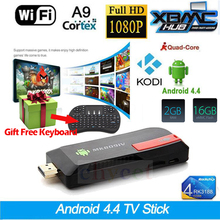 Buy MK809IV RK3188 Quad Core Mini PC Android 5.1 TV Box Wifi 2GB 16GB Bluetooth Google TV Player HDMI MK809IV TV Stick + Keyboard for $49.49 in AliExpress store