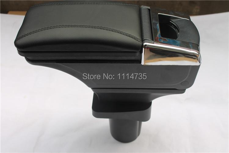 подлокотник черная кожа для chevrolet aveo 2002-2012