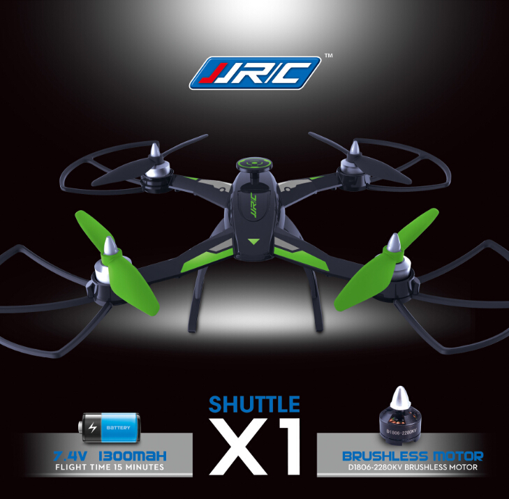 F16594/95 Drone JJRC X 1 With Brushless Motor 2.4G 4 Channel 6 Axis Gyro Remote Control Quadcopter 400M Distance<br><br>Aliexpress