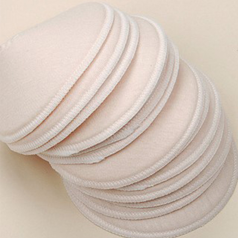 2 Pairs Free Shipping 1bag Hot Galactorrhea Washable Nursing Breast Pads,spill prevention breast pad For Mommy Breast Feeding<br><br>Aliexpress