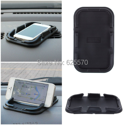 Universal Car Anti Slip Mat Silicone Dashboard Non Mount Holder Slip-Resistant Pad IPhone Samsung GPS Navigator - lisa topseller's store