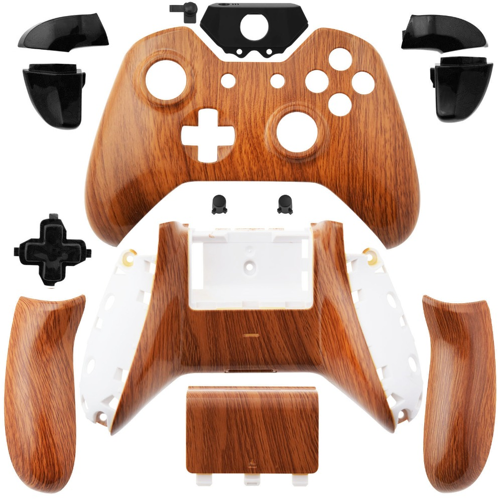 Wireless Controller Shell Kit for XBox One Wood Pattern Tuning(Hong Kong)