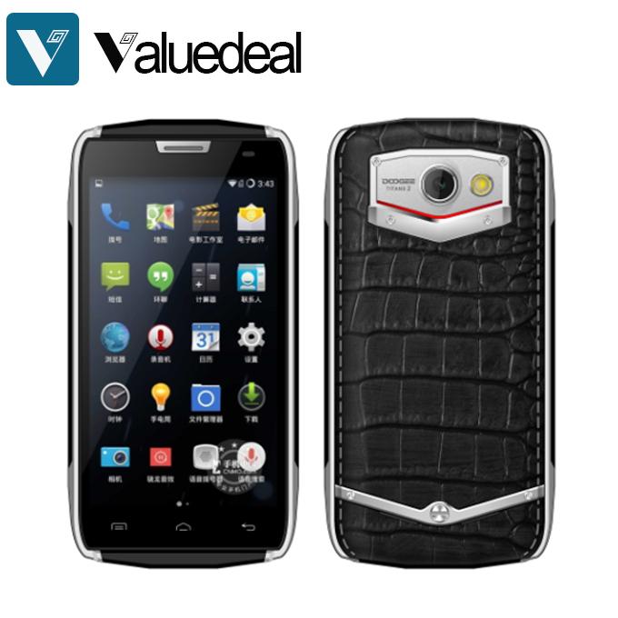 Original DOOGEE DG700 TITANS 2 IP67 Waterproof MTK6582 Quad Core Mobile Phone Android 5.0 1GB 8GB 3G 4000mAh Battery(China (Mainland))