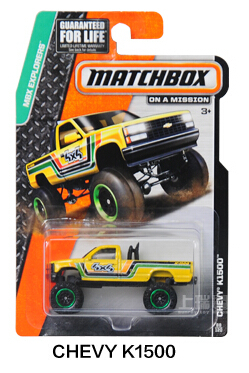Authorized sales Hot Wheels Matchbox Series chevy k1500 kids toys Plastic metal miniatures cars model 30782 collectible toy(China (Mainland))