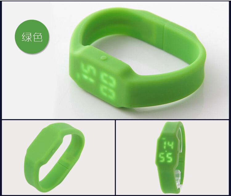 cool LED Hand wrist watch bracelet pendrive usb 2.0 flash drive/memory stick/Gift S559(China (Mainland))