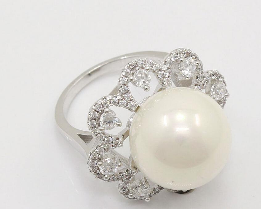 00567 Pearl Jewelry Cz Topaz Ring<br><br>Aliexpress