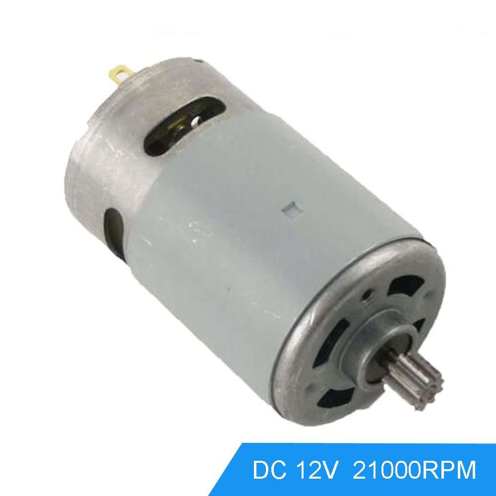 Dc reduction motors geared 12v 21000rpm speed high torque for High torque high speed dc motor