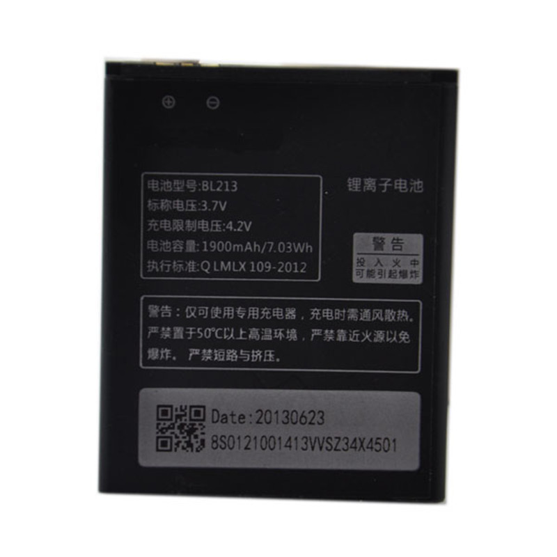 BL213 1700mAh 3.7v Standard Voltage Rechargeable CellPhones Battery For Lenovo MA388A Android With Best Price And Fast Delivery(China (Mainland))
