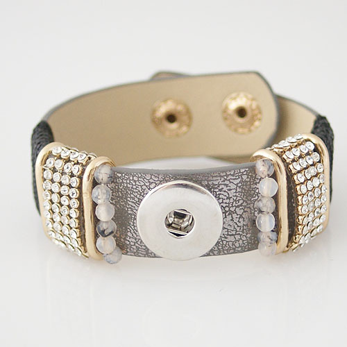 product Wholesale high quality hot selling snaps jewelry buttons beads bracelets fit snaps buttons from www partnerbeads com KB0849