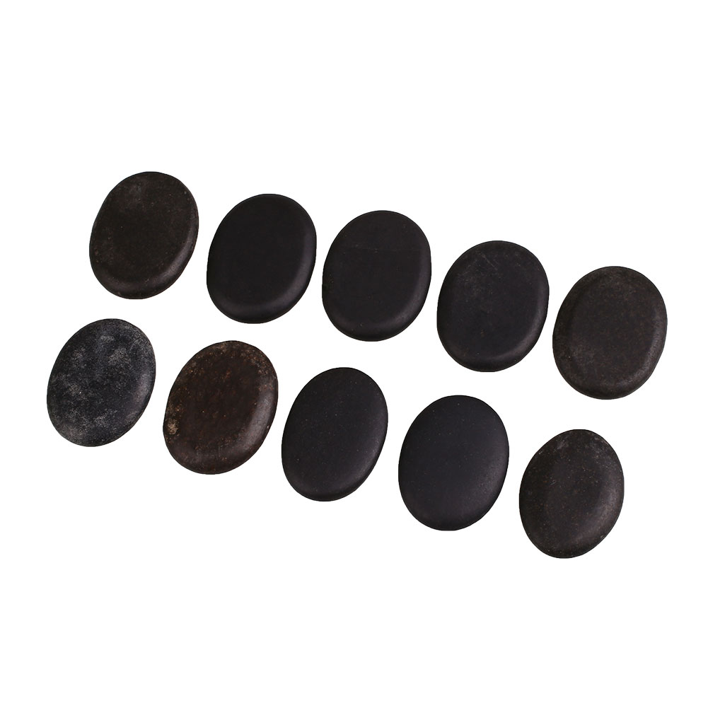 Health Care Natural Energy Massage Basalt Rocks Therapy Hot Stone Pain Relief