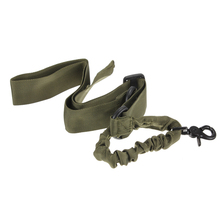 Multi-functional Adjustable Nylon Tactical single point Bungee Rifle Gun Airsoft Sling  hunting gun Strap Army Green