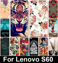 22 Colors Cute Cartoon Painted Capa Funda Lenovo S60  Mobile Phone Case Protective Case For Lenovo S60 Capa Funda  Back Cover