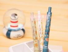 New school Cute Cartoon Ball Pens kawaii korean stationery vintage flower ballpoint pen Gifts Free shipping 417(China (Mainland))