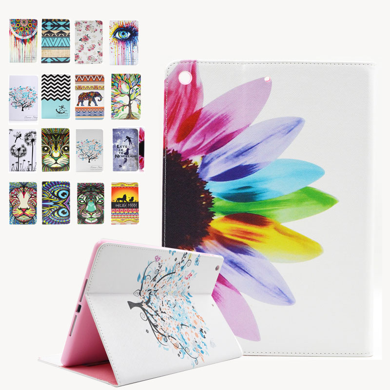 For Ipad Air Case Fashion Painted Leather Cover Stand Case