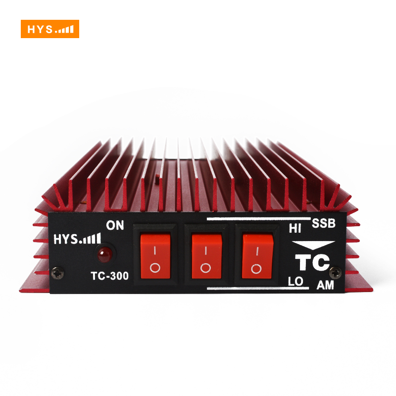 HF Transceiver Ham Radio 3-30Mhz TC-300 HF Power Amplifier Red Color for Walkie Talkie(China (Mainland))