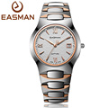 EASMAN Mens Tungsten Steel Watches Luxury Sapphire Glass Waterproof Date Show Dress Business Wrist Watches for