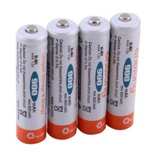 Ni-MH AAA 1.2V 900mAh Rechargeable Battery For Longest Storage Energy Enelong MBIC #31548(China (Mainland))