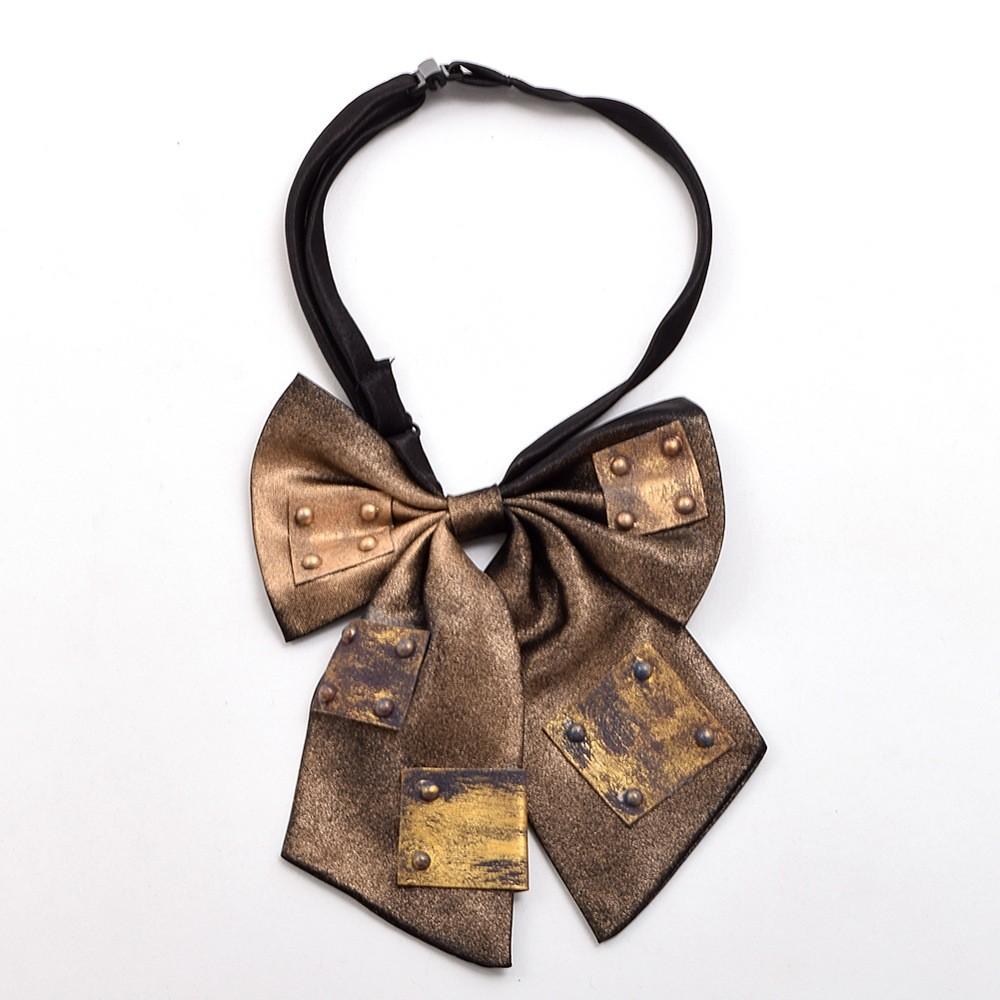 1pc Steampunk Vintage Bowknot Bowtie