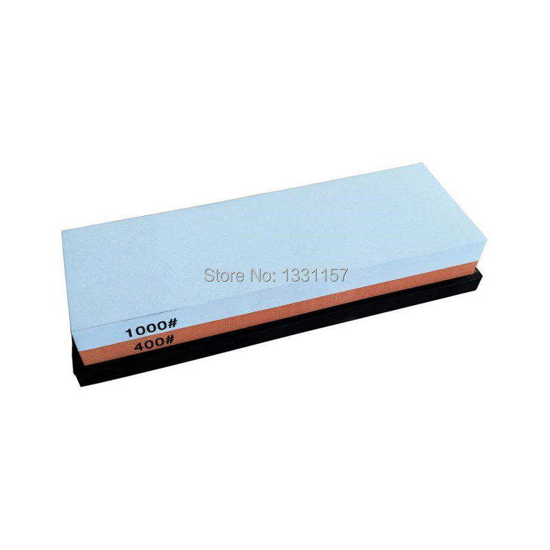 Buy 400 1000 Grits Double Sided Coarse and Fine Knife Sharpeners Whetstone Sharpening Stone Oilstone DMD1511 cheap