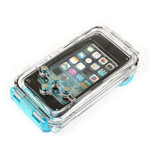 US Stock FreeShipping 40m/130FT Waterproof Underwater Diving Housing Case Cover For iPhone 5 5C 5S(Hong Kong)