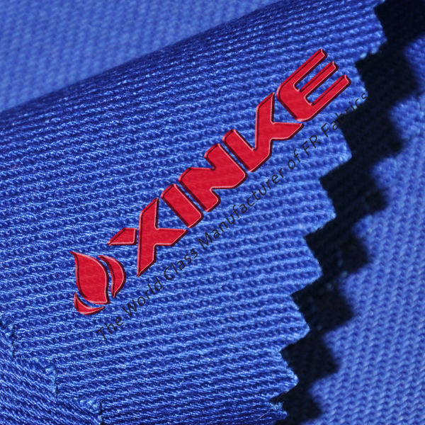 ASTM F1506 ATPV 9.4cal woven blue 88/12 fr fabric(China (Mainland))