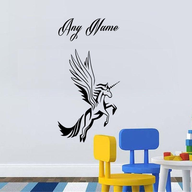 Aile mur d cor promotion achetez des aile mur d cor for Decoration murale licorne