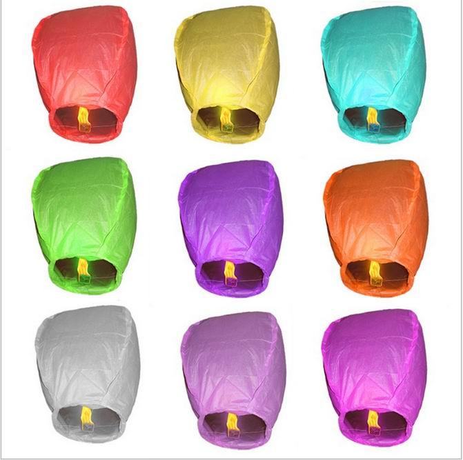 Freeshipping,SKY Balloon Kongming wishing Lanterns,Flying Light Halloween Lights,Chinese sky Lantern Wholesale 1000pcs/lot(China (Mainland))