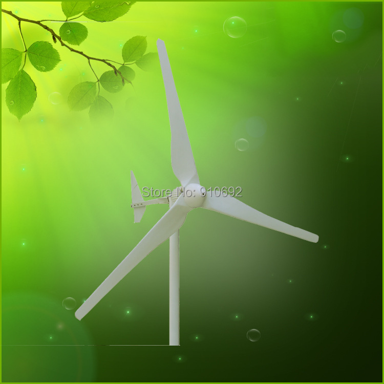 wind power generator for off grid wind solar hybrid systems 2kw 96v(China (Mainland))