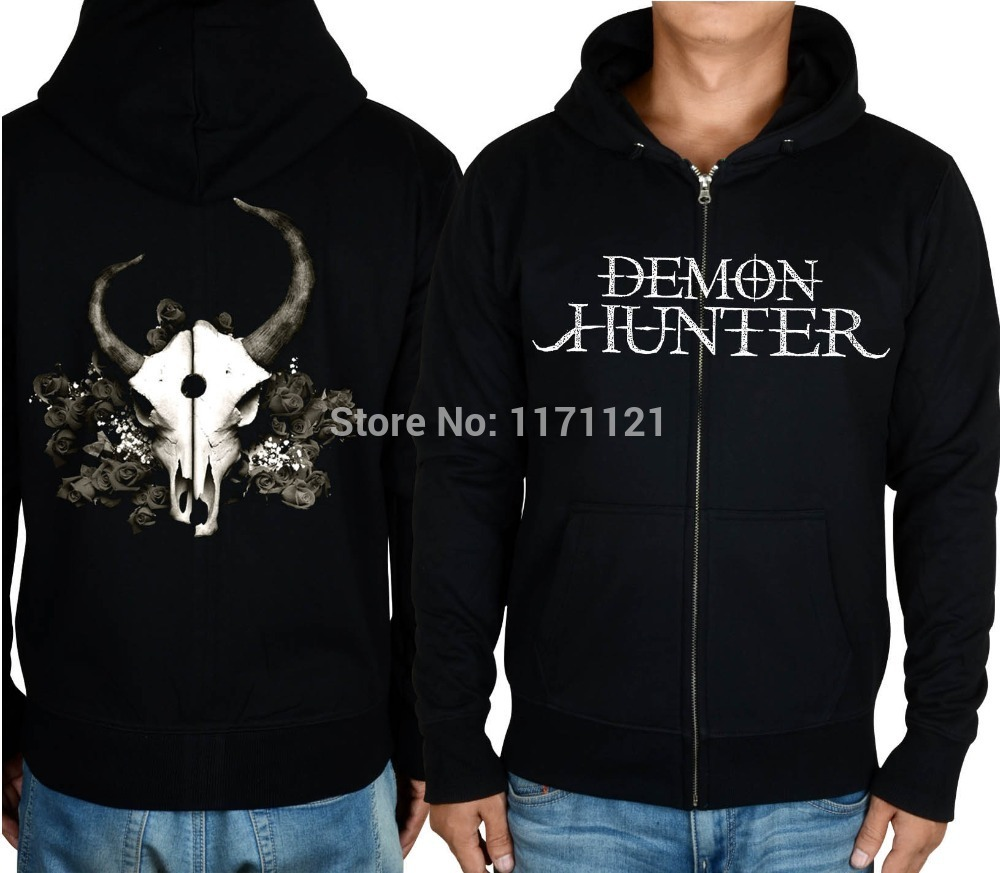 demon hunter summer of darkness album cover metalcore  christian metal 100% cotton men's  new Hoodie
