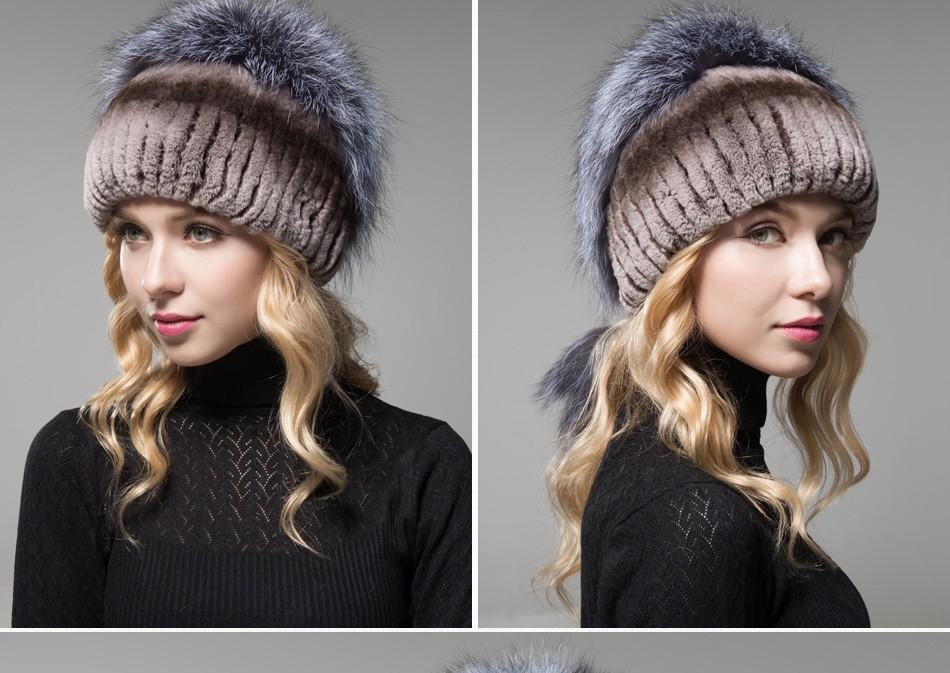 fur hat female winter PCM006 (22)