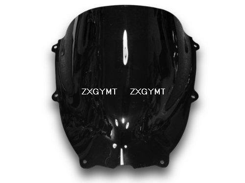 Black Windshield 02 03 for YAMAHA YZF600R Windscreen for YAMAHA YZF600R 98 99 Thundercat 96-07 Windshield<br><br>Aliexpress