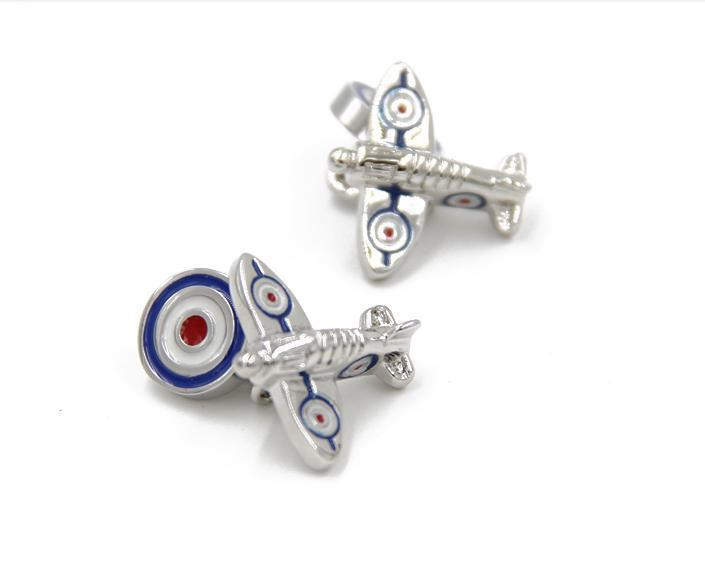 2015 Hot sale Novelty Airplane Design Cufflinks For Men's Shirt(China (Mainland))