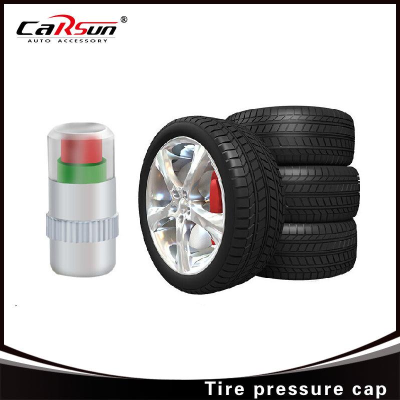 4PCS 2.2bar Air Warning Alert Tire Valve Pressur Car Auto Tire Air Pressure Valve Stem Caps Sensor Indicator Alert(China (Mainland))
