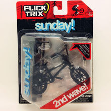 Newest Flick Trix Finger bike BLACK SUNDAY Bmx Diecast Nickel Alloy Stents Professional Finger Bicycle Novelty Mini Toys(China (Mainland))