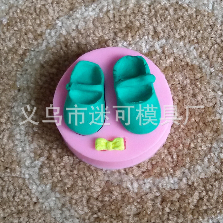 Shoes Shape Fondant Cake Decorating Tools Kitchen Fondant Kitchen Accessories Cake Mold Candle