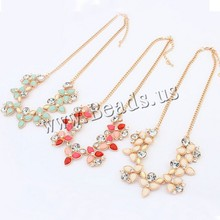 2015 New Fashion Brand Designer Chain Choker Vintage Rhinestone Necklace Bib Statement Necklaces & Pendants Women Jewelry (China (Mainland))