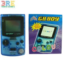 """2.7 """" kong feng go BOY classique couleur couleur console de jeu portable avec backlut garçon jeu lecteur soutien GBC jeux(China (Mainland))"""
