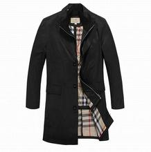 2015 Brand New England Style Designed Long Outerwear High Quality Male Twinset Long Trench Coat(China (Mainland))