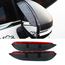 Buy Car Styling Carbon rearview mirror rain eyebrow Rainproof Flexible Blade Protector Accessory TOYOTA COROLLA 2008-2011 for $8.49 in AliExpress store